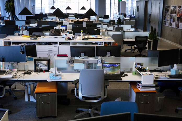 What will tomorrow's workplace bring? More elbow room, for starters