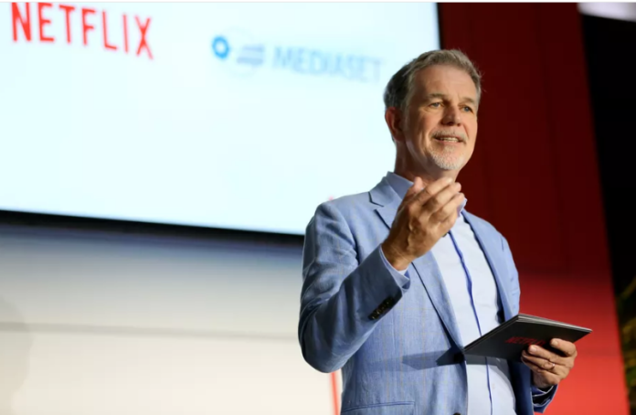 Reed Hastings, the founder of Netflix