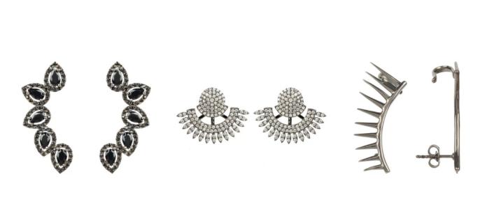 ear cuff stud earrings
