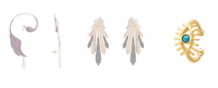 Ear Climbers Earrings